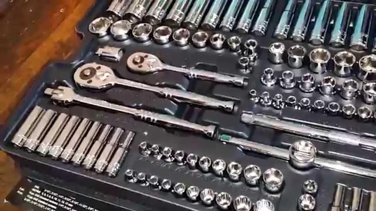 Diesel Mechanic Tools >> Pittsburgh 301pc Mechanic Tool Kit Set Youtube