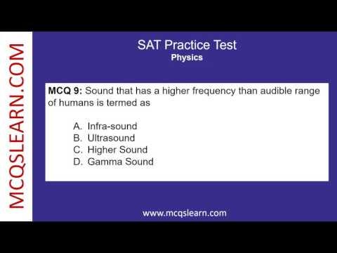 SAT Practice Test - MCQsLearn Free Videos