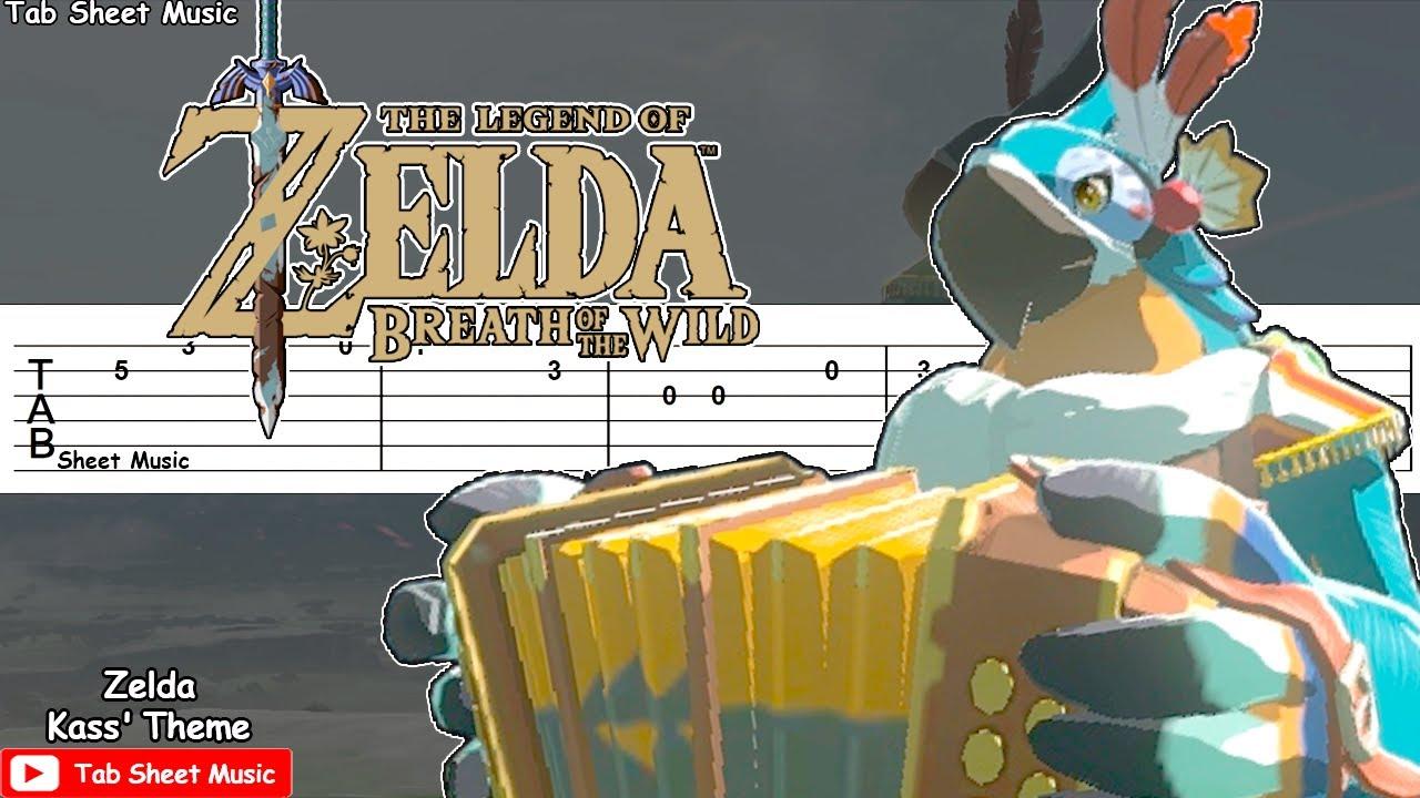 Kass' Theme - Zelda: Breath of the Wild Guitar Tutorial
