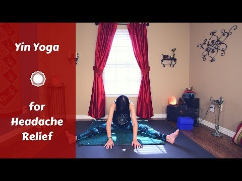 Yin Yoga for Headaches | Headache & Tension Relief {50 mins} | Liver, Gallbladder & Bladder Meridian