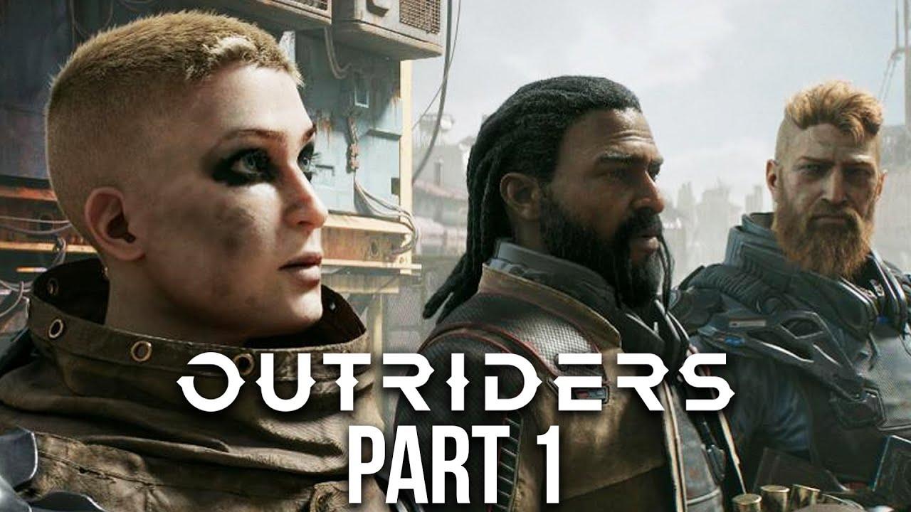 OUTRIDERS Gameplay soluce, partie 1 - Mon premier jeu PS5 Xbox Series X @GameRiot + vidéo