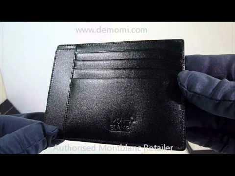 mb 2665 montblanc wallet meisterstuck portafogli review mont blanc - Mont Blanc Card Holder