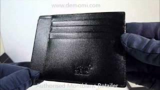 MB 2665 montblanc wallet  meisterstuck portafogli review mont blanc