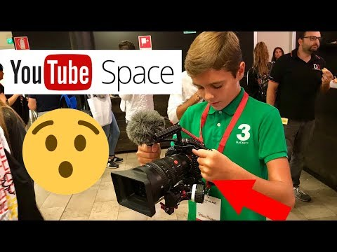 UNA GIORNATA DA YOUTUBE! YouTube Space Milano