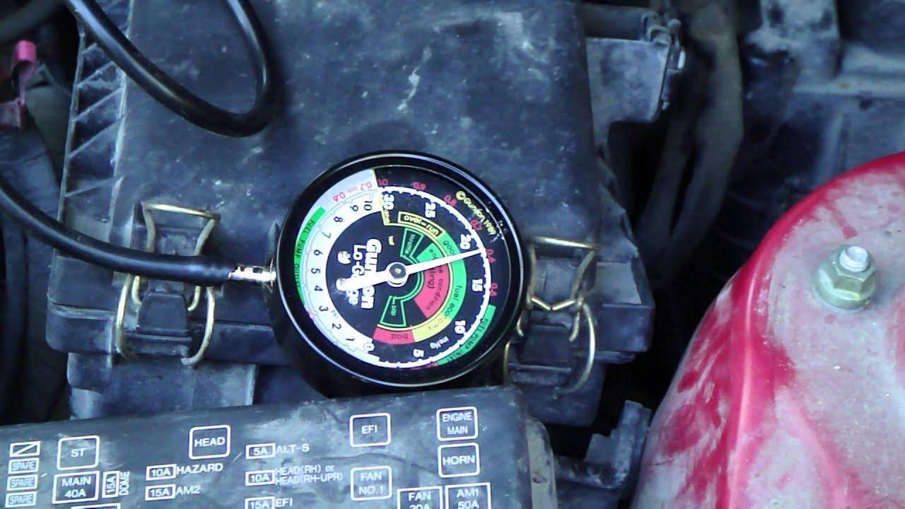 How to fix error code P0171 using vacuum air gauge tester