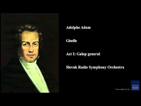 Adolphe Adam, Giselle, Act I: Galop general