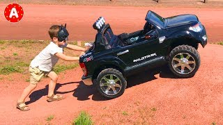 Superheroes Adam Ride Electric Car for Kids Ford Ranger