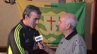 Interview with Jim McGuinness about All Ireland Semi Final