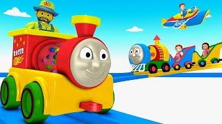 Toy Train for Children - Chu Chu Train - Toy Factory - Thomas & Friend - Thomas Train - Cartoon jcb