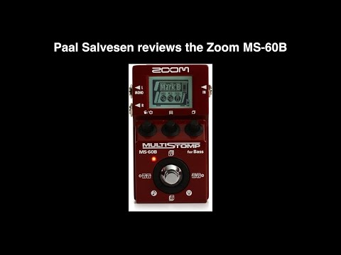 Bass Weekly - Zoom MS-60B