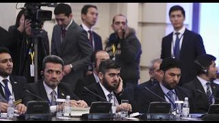 أخبار عربية:  إنطلاق مفاوضات أستانة والمعارضة السورية تؤكد: لم نأت لتقاسم السلطة ومرجعيتنا السياسية
