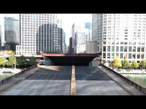 columbus drive bridge, chicago