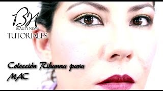 Beauty News   Tutorial de ojos colección Rihanna para MAC