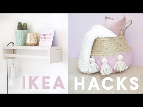 Ikea Hacks and DIYs for 2018 | Home Decor DIY Ideas on a Budget