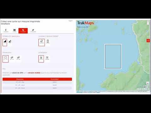 Comment créer une carte sur mesure TrakMaps pour votre client