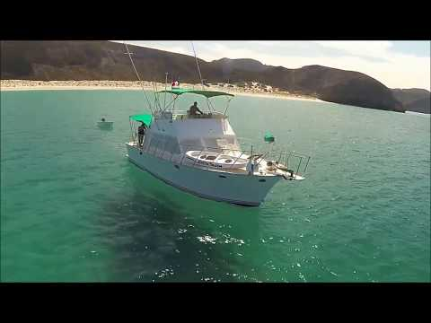 40' Twin Diesel Lures Interior Walk Through - SeaScape Charters - Boat Charters In BCS Mexico
