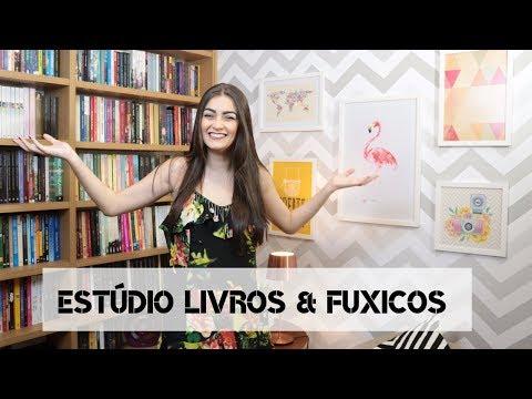 TOUR PELO HOME OFFICE | Livros & Fuxicos