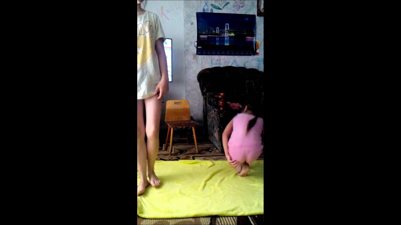 Наша утренняя гимнастика :-)