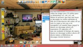 Descargar e Instalar 72 Estilos Para Photoshop CS3, CS4, CS5 & CS6