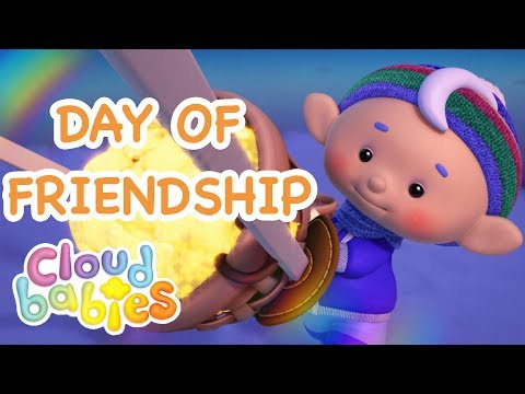 Cloudbabies - Day of Friendship Special | Working Together for the Most Exciting Day of the Year