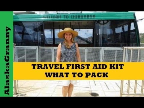 Travel First Aid Kit What to Pack
