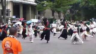 2014年8月23日 原宿 スーパーよさこい 1日目 NHMK前ストリート会場 ...