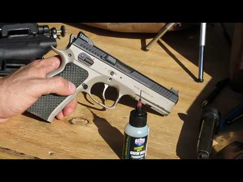 How to Oil a CZ pistol (so you never have to clean it)