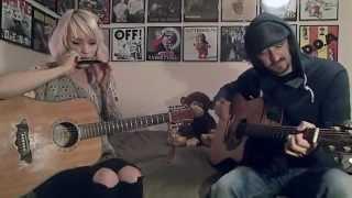"""HOTEL YORBA"" (The White Stripes cover) - EMILY BONES ft. MIKEY HAWDON"