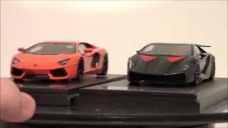 1/43 True Scale Fujimi Lamborghini Aventador LP700-4 Pearl Orange