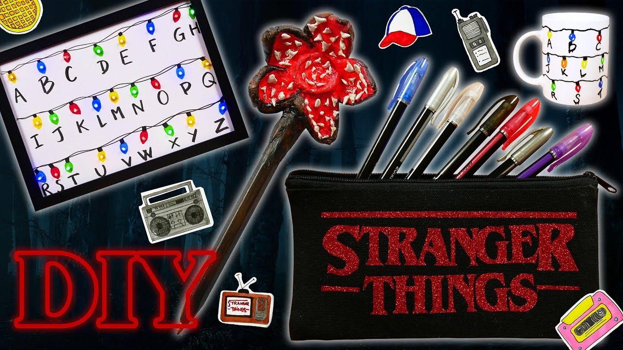 19 DIY STRANGER THINGS NETFLIX