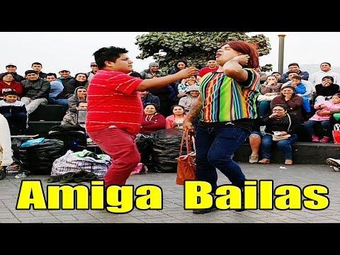 "Jefferson y Frejolito Jr. ""  Amiga Podemos Bailar "" - Comicos Ambulantes [ Completo ] Chabuca Granda"