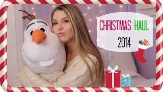 Christmas Haul 2014! Thumbnail