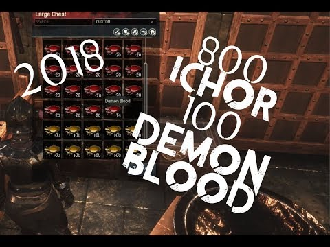 Lots Of Ichor & Demon Blood Guide | Best Farm And Method | Conan Exiles | 2018