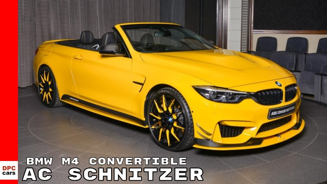 2018 bmw m4 convertible with ac schnitzer body kit youtube. Black Bedroom Furniture Sets. Home Design Ideas