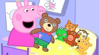 Peppa Pig Full Episodes | Teddy Playgroup | Cartoons for Children