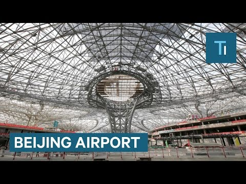 China is building a mega-airport in Beijing that will open in 2019