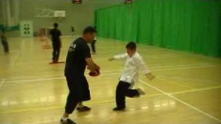 young aaron training mantis kung fu. only been training 12 lessons
