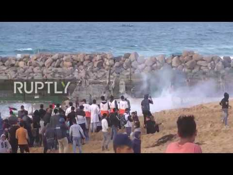 State of Palestine: At least 21 protesters injured at Gaza flotilla protest