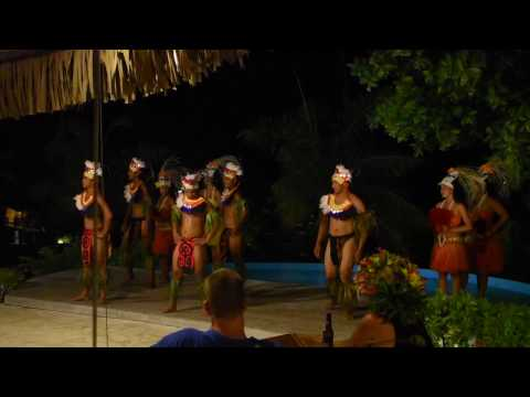 Bora Bora, French Polynesia - Bora Bora Pearl Beach Resort and Spa Polynesian Show HD (2017)