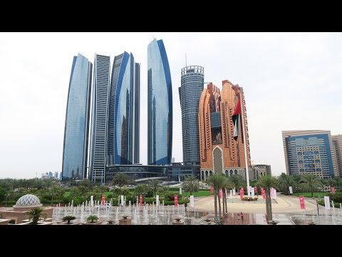 Abu Dhabi - Etihad Towers, Emirates Palace, Heritage Village, Capital Gate