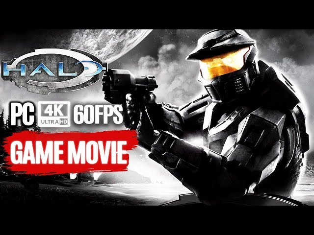HALO CE PC All Cutscenes (4K 60FPS) Game Movie