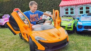 ALİNİN SİHİRLİ ARABASI Kid Play with Magic Toy Car