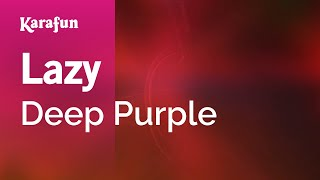 Karaoke Lazy - Deep Purple *