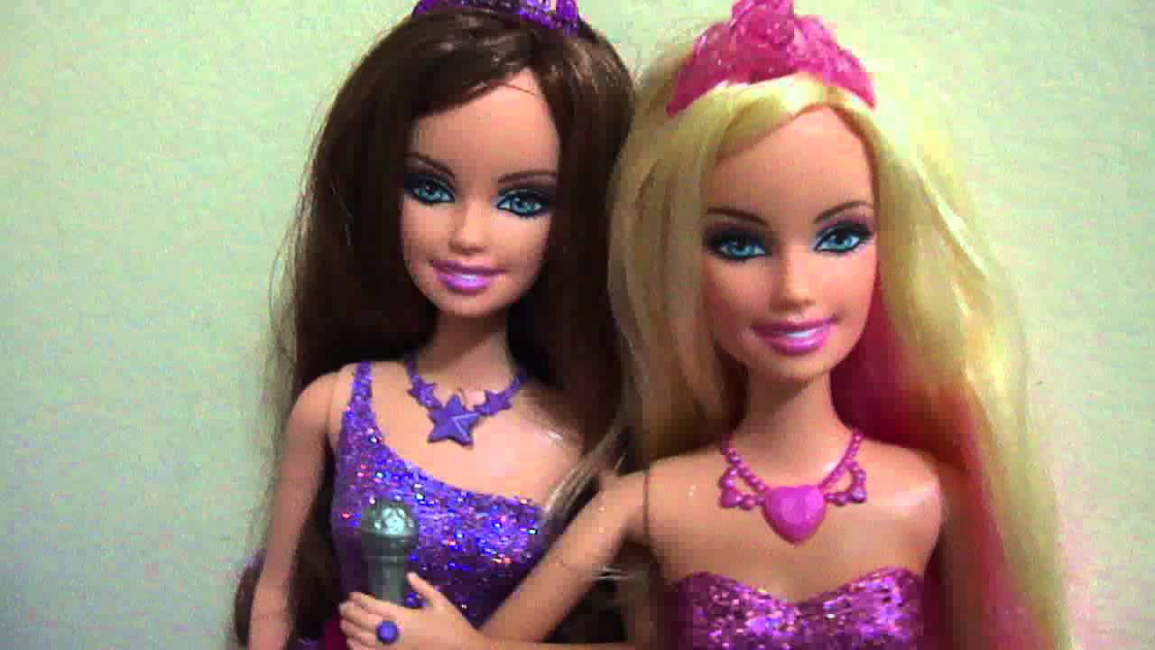 Barbie As The Princess And The Popstar Tori And Keira As The Princess And