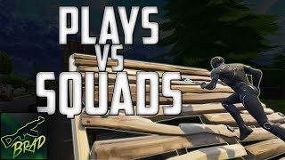Build Fights + Making Plays Against Squads! | Fortnite Battle Royale by Brad