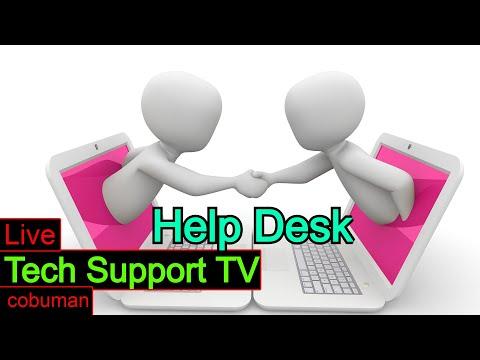 Tech Support TV, Topic: Help Desk Tier 1, Tier 2, and Desktop Support Training. 🔥