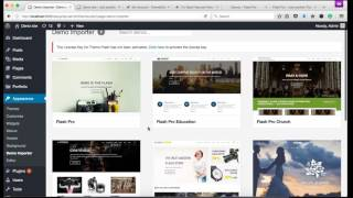 How to Import Demo Content for ThemeGrill Premium Themes thumbnail