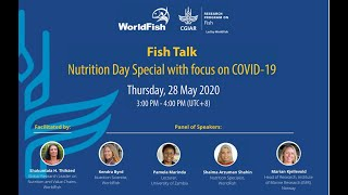 Fish talk: Nutrition Day Special with focus on COVID-19