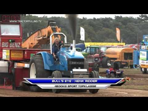 Tractorpulling TV - 4500kg Sportklasse - 7 September 2013 Bakel