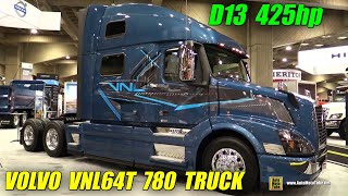 Download 2016 Volvo VNL64T 780 Truck with Volvo D13 425hp Engine -Ext, Int Walkaround - 2015 Expocam Montreal Mp3 and Videos